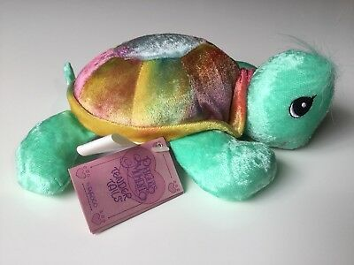 Vtg 90s Toy Precious Moments Tender Tails Turtle Plush Bean Bag Enesco w/ Tag