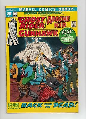 Western Gunfighters #7 Ghost Rider, Apache Kid (Marvel GIANT 1972) VF/NM 9.0