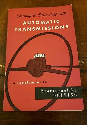"1953 AAA Booklet ""How To Drive Cars With Automatic Transmissions"""