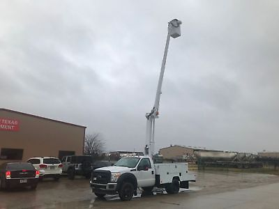 Ford F450 Bucket Truck 42 Foot Reach Articulating & Telescopic Boom 2013 2014