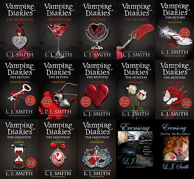 Vampire Diaries series(22 BOOKS): PDF,Kindle,EPUB versions(NOT the paper book)