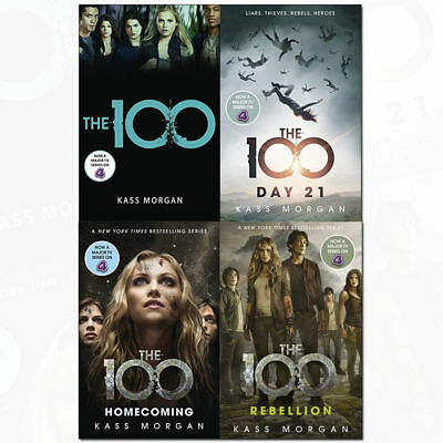 The 100 by Kass Morgan full series(4 books) PDF,EPUB Version (Send via email)