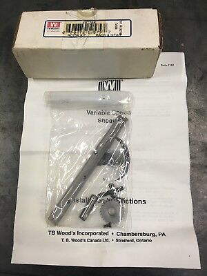 NIB TB Wood's RC75K Rack & Gear Repair Kit Made in USA