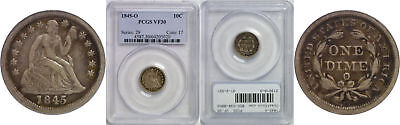 1845-O Seated Liberty Dime PCGS VF-30