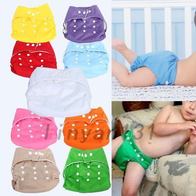 Nano Reusable Washable Adjustable Cloth Baby Nappy Pocket Diaper Antibacteria US