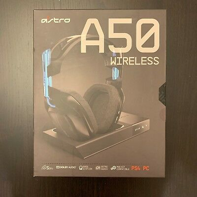 Astro Gaming A50 Wireless Headset + Base Station for PS4/PC
