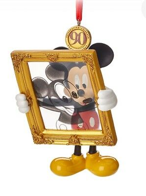 Mickey Mouse Legacy Sketchbook Ornament 2018 Limited Release 90th anniversary