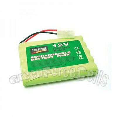 1 pc 12V 1300mAh Ni-MH Rechargeable Battery Pack Cell with Tamiya Plug For RC