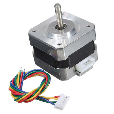 Nema 17 Bipolar Stepper Motor 28N.cm 0.4A 12V 4 Wire For CNC 3D Printer