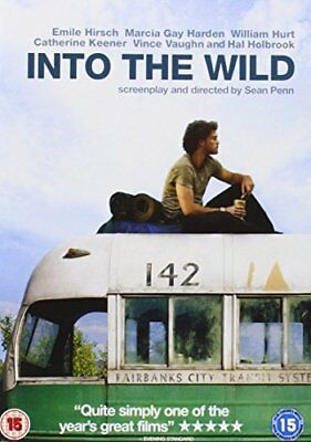 Into the Wild [DVD] [2007], DVD, New, FREE & Fast Delivery