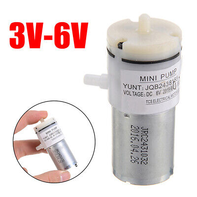 DC 3V-6V 5V Micro 370 Motor Mini Air Pump Vacuum Pump Self-Priming Breast Pump