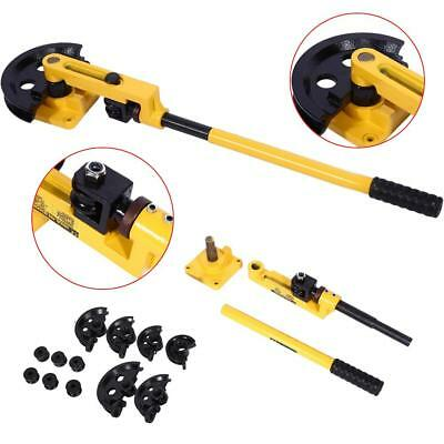 10-25mm Heavy Duty Manual  Carbon Steel Pipe Tube Bender Bending Tools with Dies