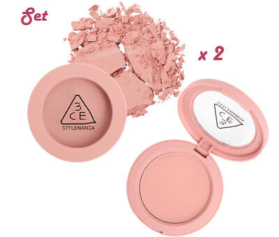 [3CE Stylenanda] 3CE Mood Recipe Face Blush (#MONO PINK) - 5.5g (2PCS SET)
