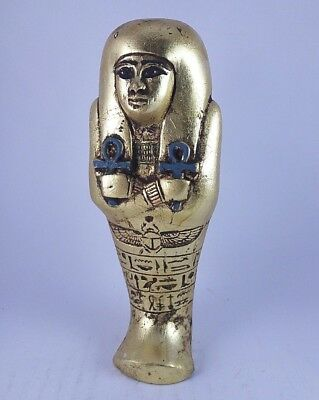Ancient Egyptian Antique Hieroglyphs Ushabti (1820-1600) Bc