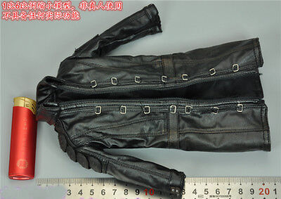 "FLAGSET FS 73012 1/6th Doomsday Survivors Leather Coat Model For 12"" Male Action"