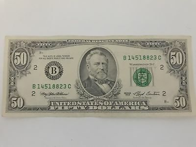 1993 series $50 FEDERAL RESERVE BANK NOTE
