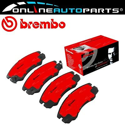 Brembo Front Disc Brake Pads Set suits Holden Rodeo TFS25 TFS55 1990 to 2003
