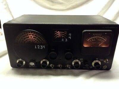 Hallicrafters-S-76-Ham-Communications-Receiver UNTESTED