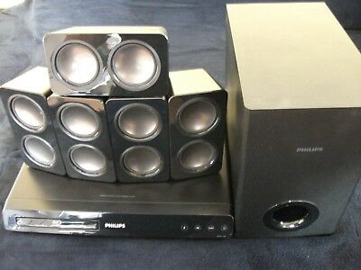 Philips HTS3541/12 Dolby 5.1 Heimkino-System Surround Blu-Ray Player TOP!!!