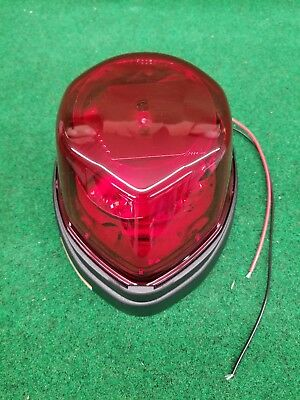 Federal Signal Ivp Slr Red Rotating Led Beacon