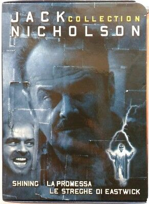 Dvd Jack Nicholson Collection - Shining La Promessa Le Streghe Eastwick Nuevo