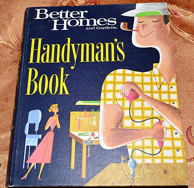 Better Homes and Gardens Handyman's Book (Binder, 1966) Nice Condition
