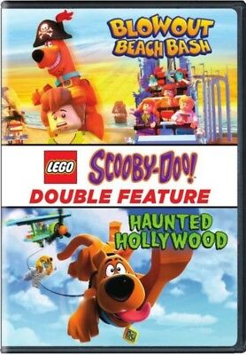 LEGO Scooby-Doo: Haunted Hollywood/Blowout Beach Bash (DVD, 2017) NEW