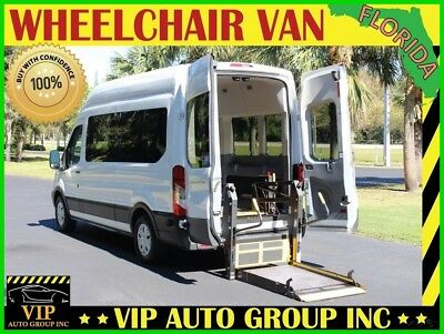 2015 Ford Transit-350 XL 2015 Ford Transit-350 XL Handicap Wheelchair Van Mobility BraunAbility Power Rea