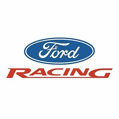 Ford Racing Logo Emblem Decal Sticker 3M Usa Made Truck Vehicle Window Car