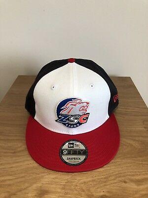 New Era ZSC Lions Ice Hockey SnapBack 9FIFTY Small-Medium Adjustable Strap