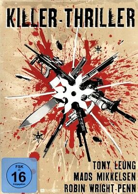 Killer-Thriller - Box [3 DVDs] - Confession of Pain, Exit & Sorry, Haters