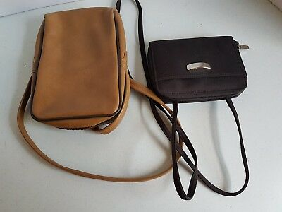 Vintage Lot of Shoulder Bags Purses Brown Shades