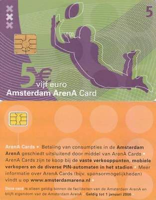 Arenakaart A046-01a 5 euro: A day at Amsterdam Arena