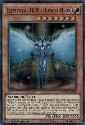 Elemental HERO Honest Neos (BLRR-EN079) -  Secret Rare First ed. Yugioh