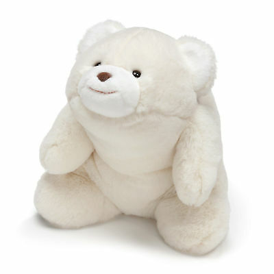 GUND - Snuffles Teddy Bear, Sitting - Plush Animal 10-in, White