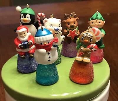 Hallmark Keepsake Miniature Ornament Gumdrops Lot Of 7