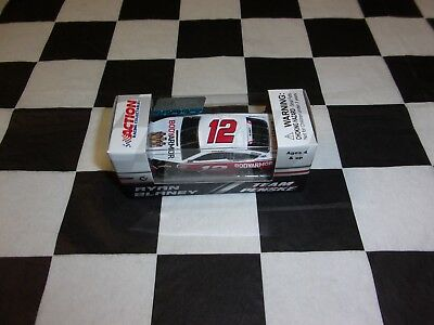 Ryan Blaney #12 BodyArmor 2018 Fusion Action 1:64 scale car NASCAR C121854BWRB