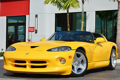 2001 Dodge Viper RT/10 2001 Dodge VIPER RT/10 Roadster-Low Miles-Excellent Condition-Florida