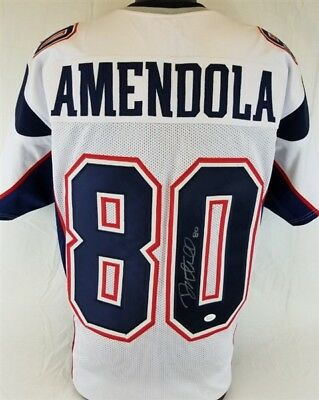 save off f007a b07b2 PATRIOTS DANNY AMENDOLA Signed 8x10 Photo Reprint ...