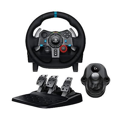 Logitech G29 Driving Force Racing Wheel Pedals or Gear Shifter Bundle PS4 PS3