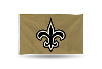 f1610e1f896 New Orleans Saints Authentic 3x5 Indoor Outdoor Quality Flag Banner NFL NWT