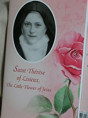Saint Therese of Lisieux the Little flower of Jesus Booklet of Prayers 32 pages