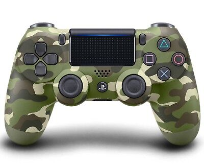 Sony Playstation DualShock 4 (3001544) Gamepad Green Camo Wireless Controller