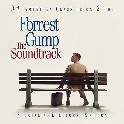 FORREST GUMP The Soundtrack 2CD BRAND NEW 34 American Classics On 2 CDs