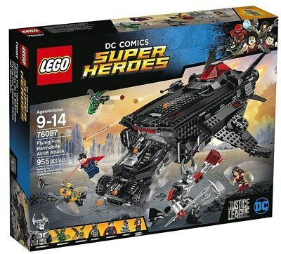 76087 LEGO DC Super Heroes - Justice League Flying Fox: Batmobile Airlift Attack