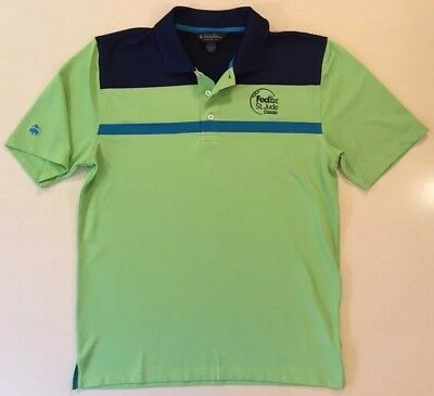 Brooks Brothers FedEx St. Jude Classic Golf Polo Rugby Collar Shirt Large