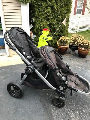 Baby Jogger 2017 City Select Lux Double Stroller Slate