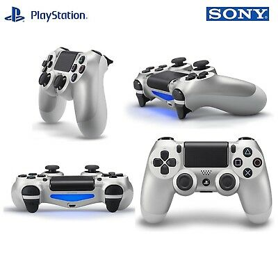 Sony PlayStation DualShock 4 V2 (3001541) Gamepad Wireless Controller Silver