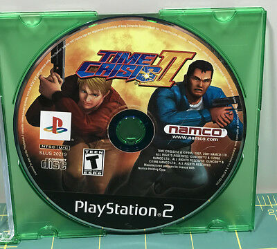 Time Crisis II (2) - Sony Playstation 2 (PS2) - Tested - DISC ONLY