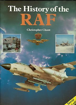 Rare/signed By Ww2 Raf Pilot/chant/history Of Raf/burma/north Africa Campaign